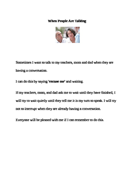 Social Stories for Kids With Challenging Behaviors