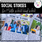 Social Stories for Middle School High School Students