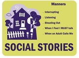 Social Stories for School or Home (Manners)