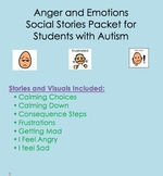 Social Stories for Students with Autism:  Anger and Emotions
