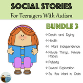 Social Stories for Teenagers with Autism Bundle 3