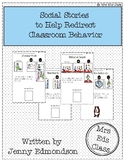 Social Stories to Help Redirect Classroom Behavior