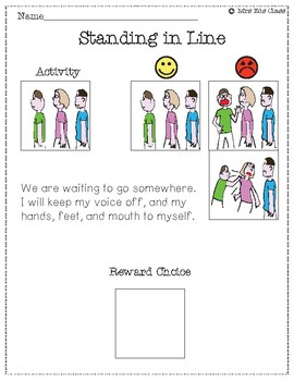 Social Stories to Help Redirect Classroom Behavior