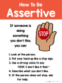 Social Story 2 (Being Assertive - STOP I Don't Like It)