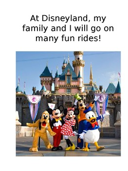 Disneyland Social Story