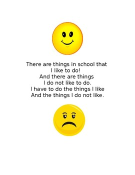 Likes and Dislikes about School