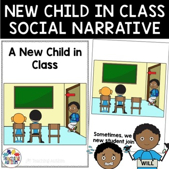 Social Story A New Student in Class