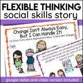 Social Story Accepting Change Print Digital Video