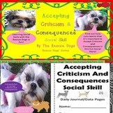 Social Story Accepting Criticism & Consequences Rescue Dogs' Series SPED/ELL