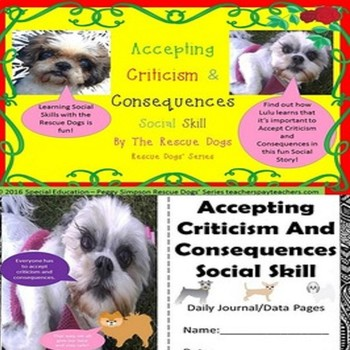 Social Story Accepting Criticism & Consequences Rescue Dog