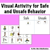 Social Story Activity for Safe and Unsafe Behavior