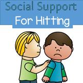 Social Story Adapted book - No Hitting