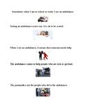 Social Story: Ambulance