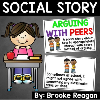 Social Story: Arguing with Peers