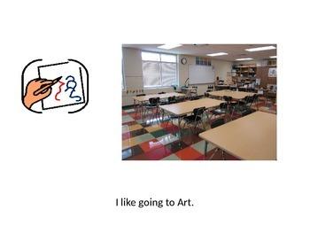 Social Story - Art Class, editable