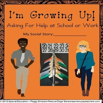 Social Skill Life Skills Vocational CBI Asking For Help at School/Job Autism/ELD