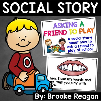 Social Story: Asking a Friend to Play