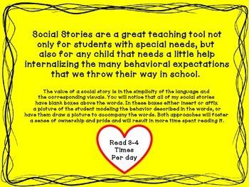 Social Story: Assemblies