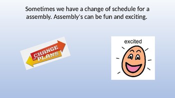 Social Story- Assembly