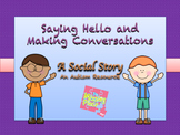 Social Story (Autism) - Special Education - Saying Hello a
