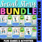 Social Story BUNDLE Behavior Edition with Games and Activities
