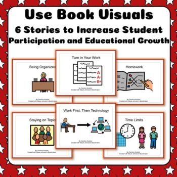 Social Story BUNDLE for School Work & Behavior for Autism + Special Needs
