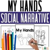 Hands Social Story Behavior Coloring Book
