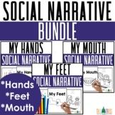 Social Story Behavior Coloring Books BUNDLE