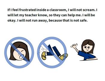 Social Story: Behavior in Special Classes