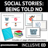 Social Story: Being Told No