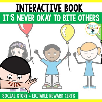 Social Story Biting - Activities and Mini Books SEL