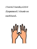 Social Story Book About Proper Use of Hands