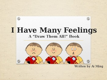Social Story Book: Draw in the Feelings!