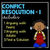 Conflict Resolution I- Social Story Bundle