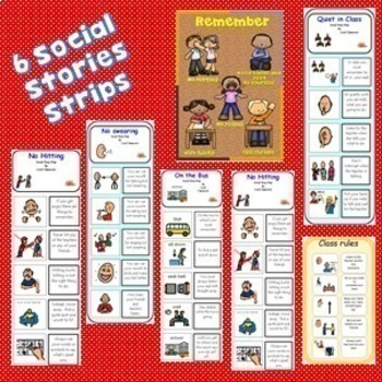 Social Stories BUNDLE (Autism/Special Needs)