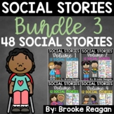 Social Story Bundle 3: Volume 1, 2, 3, and 4 {48 Social Stories}