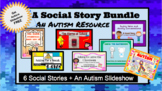 Social Story Bundle: An Autism Resource: 5 Social Stories