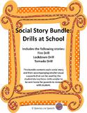 Social Story Bundle: Drills at School (Fire, Lockdown, and Tornado Drills)