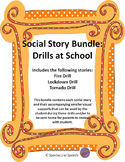Social Story Bundle: Drills at School (Fire, Lockdown, and