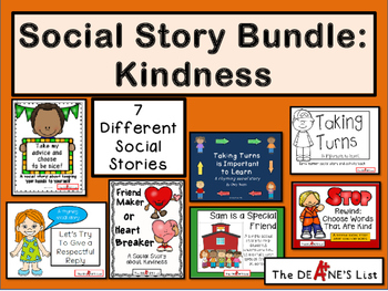 Social Story Bundle: Kindness