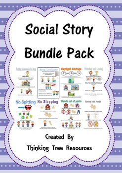 Social Story Bundle Pack 1