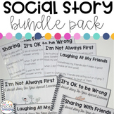 Social Narrative Bundle Pack for Your Special Learners