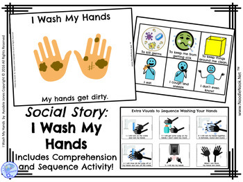 Social Story- Bundle- Three MORE Books for Autism Units, SpEd & Early Elem.