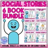 Social Story Bundle (Unit 1) - School Behavior Basic for C