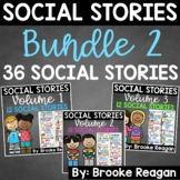 Social Story Bundle: Volume 1, 2, and 3 {36 Social Stories}