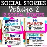 Social Story Volume 2: 12 Social Stories Teaching Appropriate Behavior