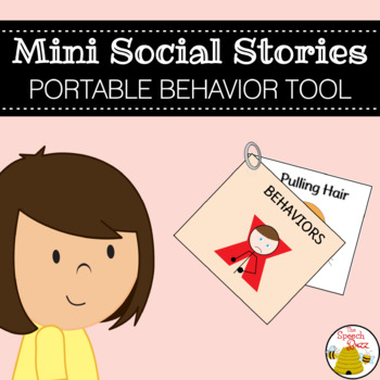 Social Story Bundle for Children with Autism:  Minis