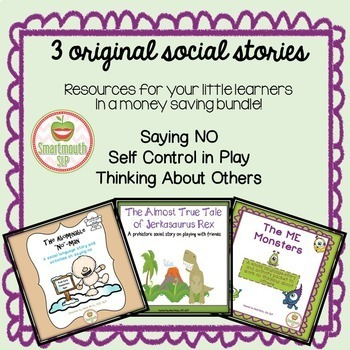 Social Story Bundle for Young Learners