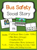 """Social Story - """"Bus Safety"""""""