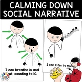 Calming Down Social Narrative Visual